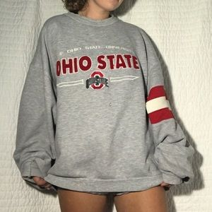 SALE💛 Vintage Ohio State Crew Neck Sweatshirt